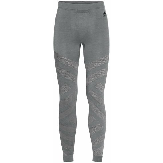 Men's NATURAL + KINSHIP WARM Baselayer Bottoms, grey melange, large