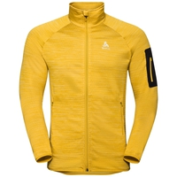 Herren STEAM Midlayer, lemon curry melange, large