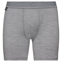 SUW Bottom Boxer NATURAL 100% MERINO WARM, grey melange, large