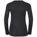 T-shirt baselayer manches longues CUBIC, ebony grey - black, large