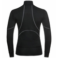Women's ACTIVE X-WARM ECO Half-Zip Turtleneck Baselayer Top, black, large