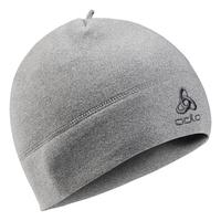 Bonnet MICROFLEECE WARM, grey melange, large