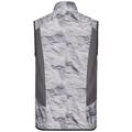 Veste ZEROWEIGHT, odlo graphite grey - paper print SS19, large
