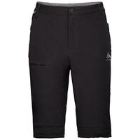 Men's SAIKAI CERAMICOOL Shorts, black - odlo steel grey, large