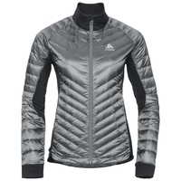Gevoerde COCOON N-THERMIC Light-jas voor dames, odlo silver grey - black, large