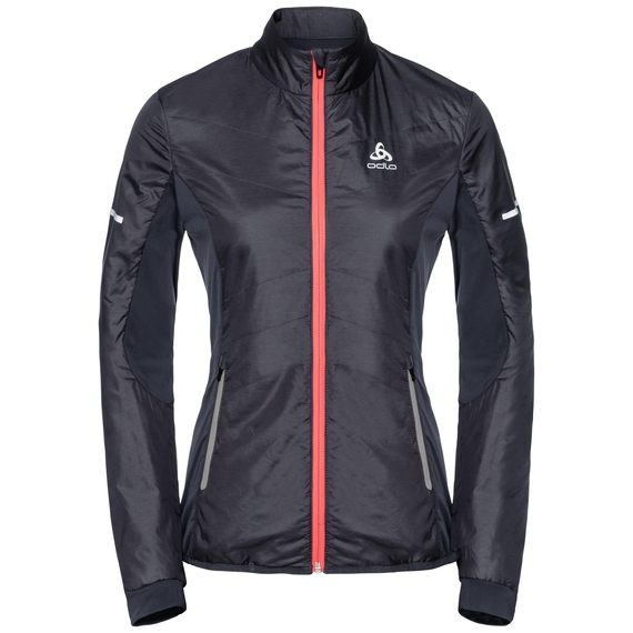 Jacket IRBIS X-Warm, odyssey gray - diva pink, large