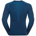 Herren PERFORMANCE LIGHT Baselayer Langarm-Shirt, estate blue - blue aster, large