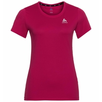 ELEMENT LIGHT PRINT-T-shirt voor dames, cerise - placed print FW19, large