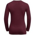 Shirt l/s crew neck CITY PROGRAM, zinfandel, large