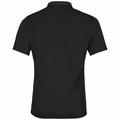 Men's CONCORD NATURAL Polo Shirt, black, large