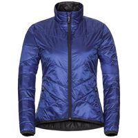 Jacket ATMOOS Innerjacket, clematis blue - odlo graphite grey, large