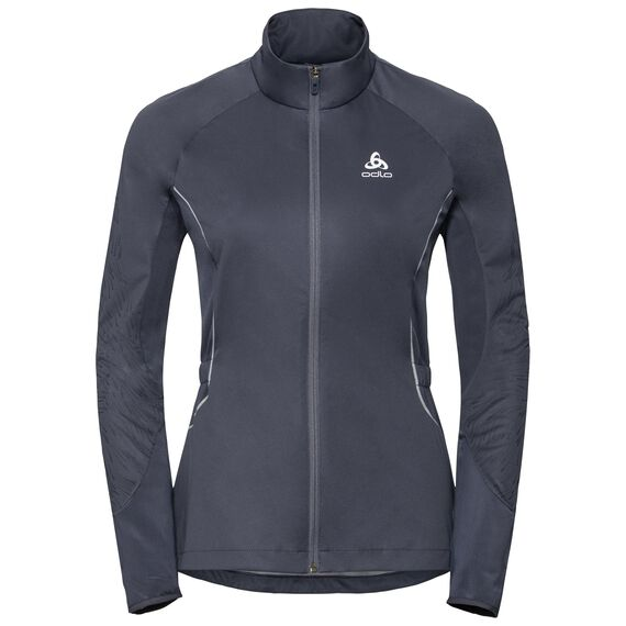 Jas ZEROWEIGHT WINDDICHT REFLECTEREND WARM, odyssey gray - placed print FW18, large
