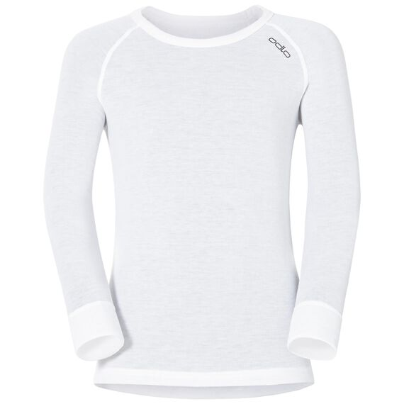 SUW Top Crew neck l/s ACTIVE ORIGINALS Kids, white, large