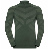 Herren NATURAL + KINSHIP WARM Baselayer, climbing ivy melange, large