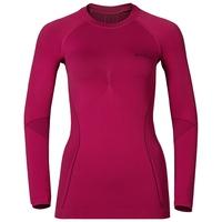 EVOLUTION WARM baselayer shirt, sangria - zinfandel, large