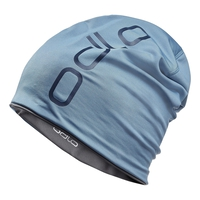 Hat CERAMIWARM REVERS, faded denim - odlo steel grey, large
