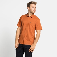 Men's NIKKO Short-Sleeve Shirt, marmalade - sugar almond, large