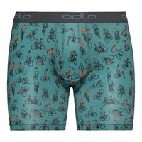 SUW Bottom Boxer ACTIVE  EVERYDAY 2 pack, arctic - cycling AOP SS19 - dark slate, large