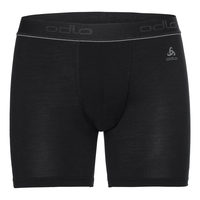 Boxer NATURAL 100% MERINO WARM, black - black, large