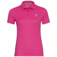 F-DRY-poloshirt voor dames, beetroot purple, large