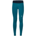 Tights OMNIUS, crystal teal - pool green, large