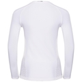 BL Top Crew neck l/s CERAMICOOL pro, white, large