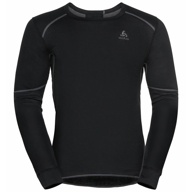 Herren ACTIVE X-WARM ECO Base Layer Top, black, large
