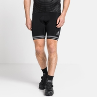 Men's ZEROWEIGHT Cycling Shorts, black, large