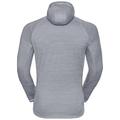 Men's STEAM Midlayer Hoody, grey melange, large