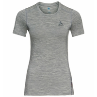 Women's MERINO 200 Base Layer Top, grey melange - grey melange, large