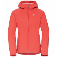 Women's AEGIS 2.5L Waterproof Jacket, hot coral, large