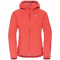 Women's AEGIS Hardshell Jacket, hot coral, large