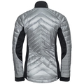 Jacket insulated DANIELA COCOON, odlo silver grey - black, large