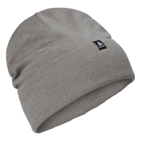 SKADI Hat, odlo concrete grey melange, large
