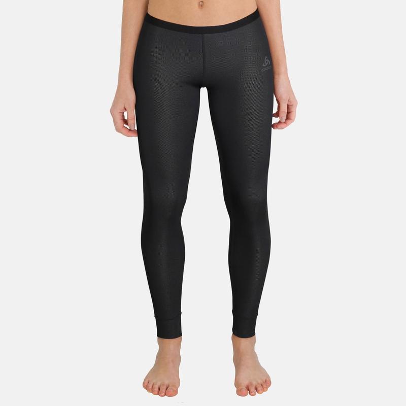 Damen ACTIVE F-DRY LIGHT Lange Unterhose, black, large