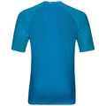 BL Top Crew neck s/s CERAMICOOL MOTION, blue jewel - poseidon, large