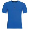 (Shirt s/s crew neck) Ceramicool, energy blue - diving navy, large