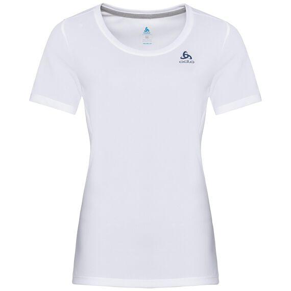 T-shirt s/s crew neck MAREN CITY, white - NORWEGIAN flag, large