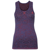 BL TOP Crew neck Singlet BLACKCOMB, energy blue - fiery red, large