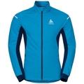 Jacket AEOLUS Warm, blue jewel - poseidon, large
