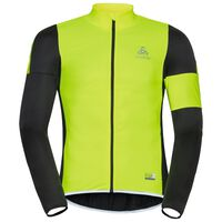 MISTRAL logic Jacket, black - safety yellow, large
