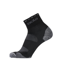 CERAMICOOL Cycling Quarter Socks, black, large