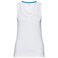 SVS HAUT débardeur col en V ACTIVE F-DRY LIGHT, white, large