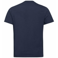 NIKKI PRINT-T-shirt voor heren, diving navy - mountain print SS20, large