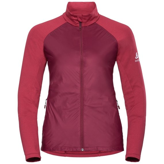Women's VELOCITY ELEMENT Jacket, rumba red - hibiscus, large