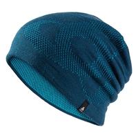 Hat MID GAGE REVERSIBLE Warm, poseidon - blue jewel, large