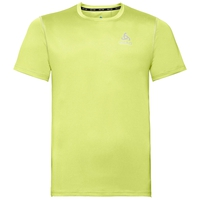 Herren CERAMICOOL ELEMENT T-Shirt, sunny lime, large