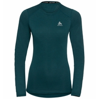 Women's ACTIVE THERMIC Long-Sleeve Baselayer, submerged melange, large