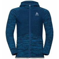 Men's MILLENNIUM PRO Running Jacket, estate blue - blue aster - black, large