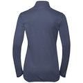 Midlayer full zip FLI, diving navy - blue indigo stripes, large
